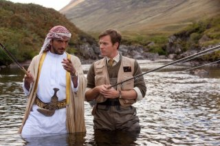 Ewan McGregor alle prese con uno sceicco amante della pesca in Salmon Fishing in the Yemen