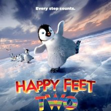 La locandina di Happy Feet 2 in 3D