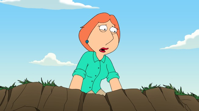 Lois Griffin In Una Delle Scene Finali Dell Episodio And Then There Were Fewer Della Serie I Griffin 210144