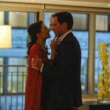 Madchen Amick e Tim Dekay nell'episodio Veiled Threat di White Collar