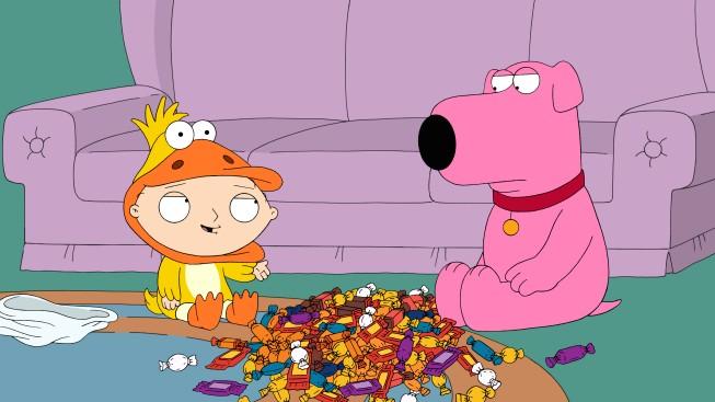Stewie E Brian In Una Scena Dell Episodio Halloween On Spooner Street De I Griffin 210149