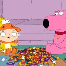 Stewie e Brian in una scena dell'episodio Halloween on Spooner Street de I Griffin