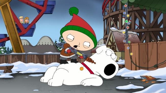 Stewie Minaccia Brian In Road To The North Pole De I Griffin 210204