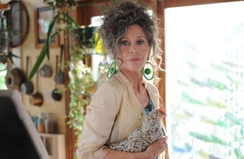 Un Bellissimo Primo Piano Di Jane Fonda Indomita Hippie In Peace Love Misunderstanding 210262