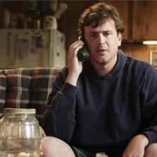 Un'immagine di Jason Segel, protagonista di Jeff Who Lives at Home