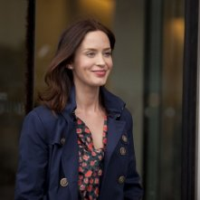 Una sorridente Emily Blunt in Salmon Fishing in the Yemen