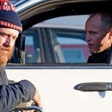 Woody Harrelson e un irriconoscibile Ben Foster in Rampart