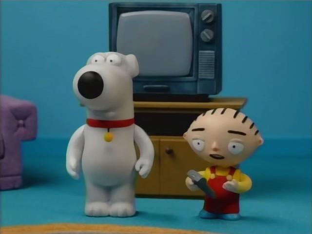 Brian E Stewie In Una Curiosa Scena Di Road To The Multiverse Della Serie Tv I Griffin 210370