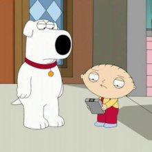Brian e Stewie nell'episodio Road to the Multiverse de I Griffin