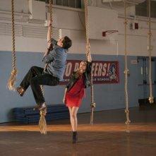 Cameron Diaz e Jason Segel in una scena di Bad teacher