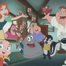 La famiglia Griffin in versione Disney nell'episodio Road to the Multiverse