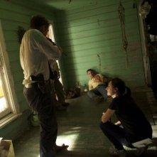 La regista Ami Canaan Mann sul set di Texas Killing Fields