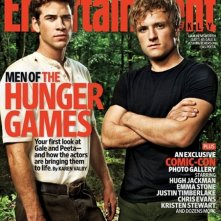 Primo sguardo a Josh Hutcherson e Liam Hemsworth in The Hugher Games. Ai due attori è dedicata la copertina di Entertainment Weekly