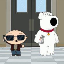 Stewie e Brian nell'episodio Brian Writes a Bestseller de I Griffin