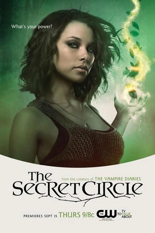 Un Character Poster Per Il Personaggio Di Jessica Parker Kennedy Nella Serie The Secret Circle 210378