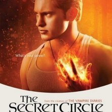 Un character poster per il personaggio di Louis Hunter nella serie The Secret Circle