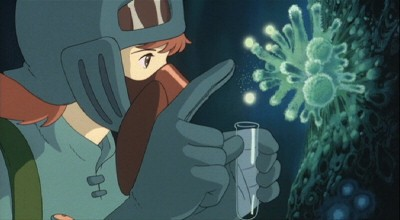 Un'immagine tratta dal film Nausicaa della valle del vento