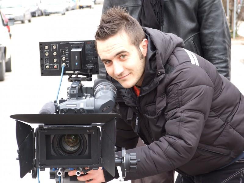 Daniele Bartoli Sul Set Del Film Affari Di Famiglia Di Stefano Alleva 210500
