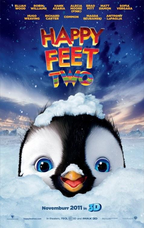 Nuovo Poster Per Happy Feet 2 In 3D 210455