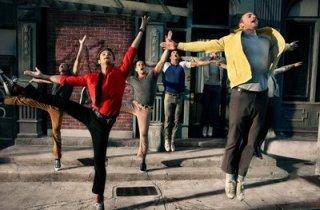Una scena di West Side Story