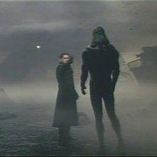 Gabriel Byrne con la malvagia presenza del film La fortezza, di Michael Mann (1983)