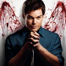 Michael C. Hall in una immagine promozionale della stagione 6 di Dexter