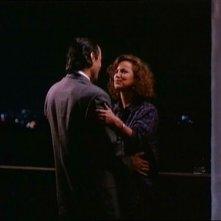 Una scena del film TV Sei solo, agente Vincent di Michael Mann (1989)