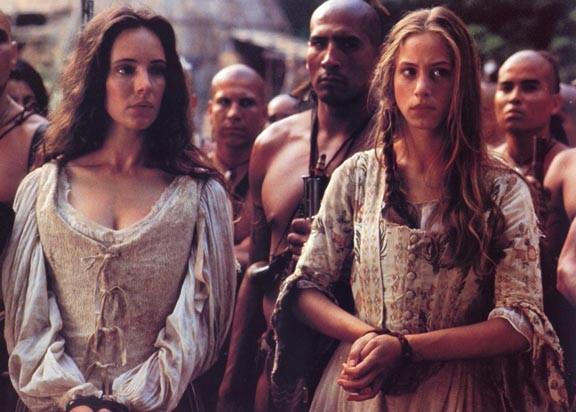 Madeleine Stowe E Jodhi May In Una Scena Del Film L Ultimo Dei Mohicani 1992 210802