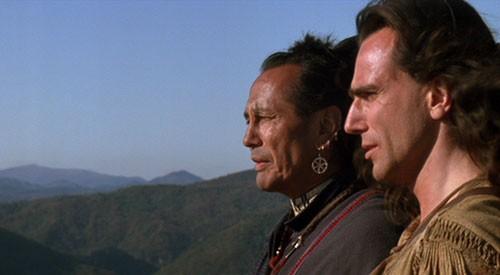 Russell Means E Daniel Day Lewis In Una Scena Del Film L Ultimo Dei Mohicani 1992 210798