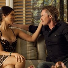 Sam Trammell e Janina Gavankar nell'episodio I'm Alive and on Fire di True Blood