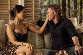 Sam Trammell e Janina Gavankar nell'episodio I'm Alive and on Fire di True Blood