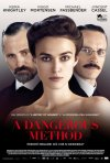 La locandina italiana di A Dangerous Method