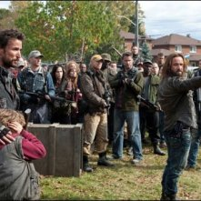 Una scena di What Hides Beneath della serie Falling Skies