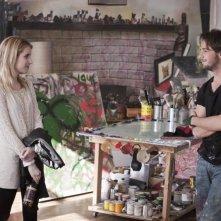 Emma Roberts con Michael Angarano nel film L'arte di cavarsela (The Art of Getting By)