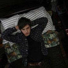Freddie Highmore nel film L'arte di cavarsela (The Art of Getting By, 2011)
