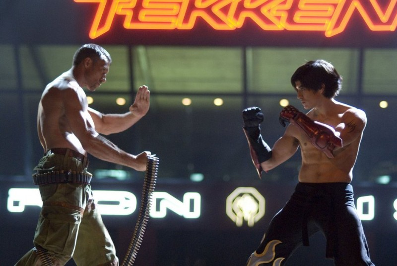 Gary Daniels E Jon Foo Nel Film Tekken 2010 210995