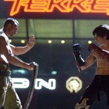 Gary Daniels e Jon Foo nel film Tekken (2010)