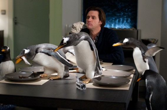 Jim Carrey E I Pinguini Di Mr Popper 210968