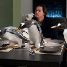 Jim Carrey e i Pinguini di Mr. Popper