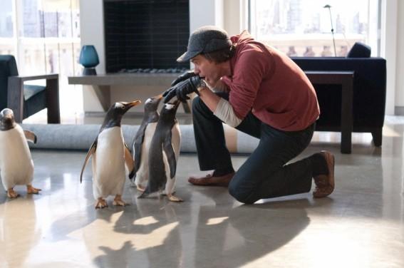 Jim Carrey E Le Adorabili Co Star De I Pinguini Di Mister Popper 210970