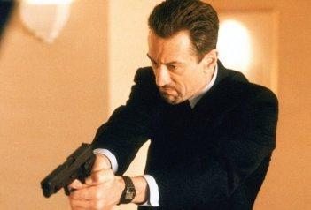 Robert De Niro in una sequenza di Heat - La sfida, di Michael Mann