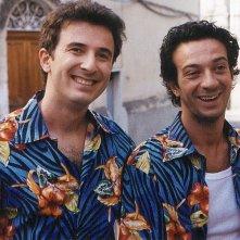 Salvatore Ficarra e Valentino Picone, duo comico protagonista di Nati Stanchi