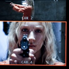 Saoirse Ronan in una sequenza del thriller Hanna