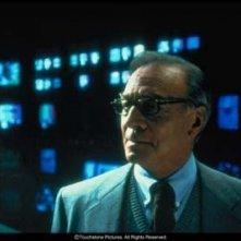 Christopher Plummer in una scena del film Insider - Dietro la verità di Michael Mann