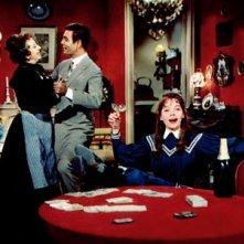 Leslie Caron in una scena canora di Gigi