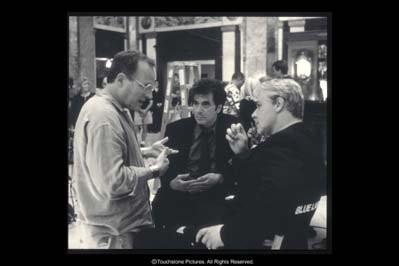 Michael Mann Con Russell Crowe E Al Pacino Sul Set Del Film Insider Dietro La Verita 211066