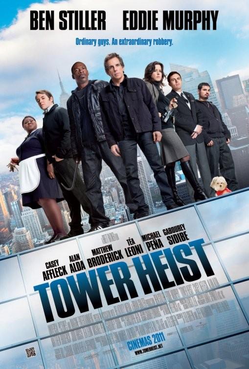 Nuovo Poster Internazionale Per Tower Heist 211023