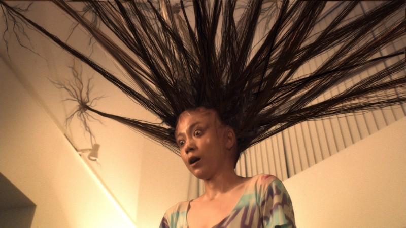 Un Inquietante Immagine Del Film Di Sion Sono Exte Hair Extensions 211086