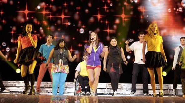 Una Sequenza Di Glee The 3D Concert Movie 211092