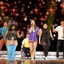 Una sequenza di Glee: The 3D Concert Movie